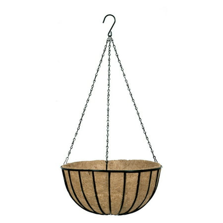 Gardman Black Traditional Hanging Basket &