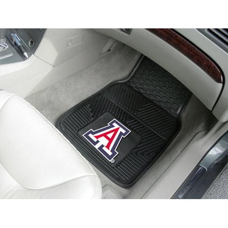 "Arizona State 2-pc Vinyl Car Mats 17""x27"" - image 2 of 2"