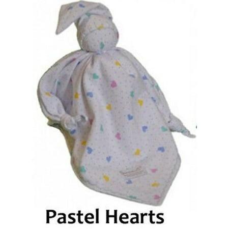 Snoedel NICU Newborn Preemie Baby Sleeping Bonding Aid Snuggle Blanket (Pastel Hearts)