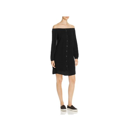 76dc5fd1 Three Dots - Three Dots Womens Gauze Mini Shirtdress - Walmart.com