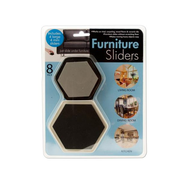 Bulk Buys OD849-24 Furniture Sliders