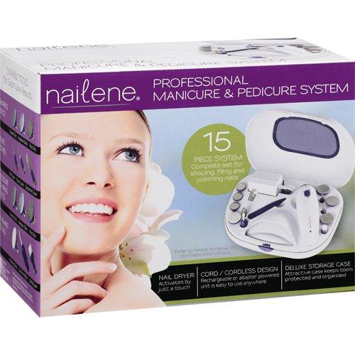 Nailene Professional Manicure & Pedicure 15-Piece System
