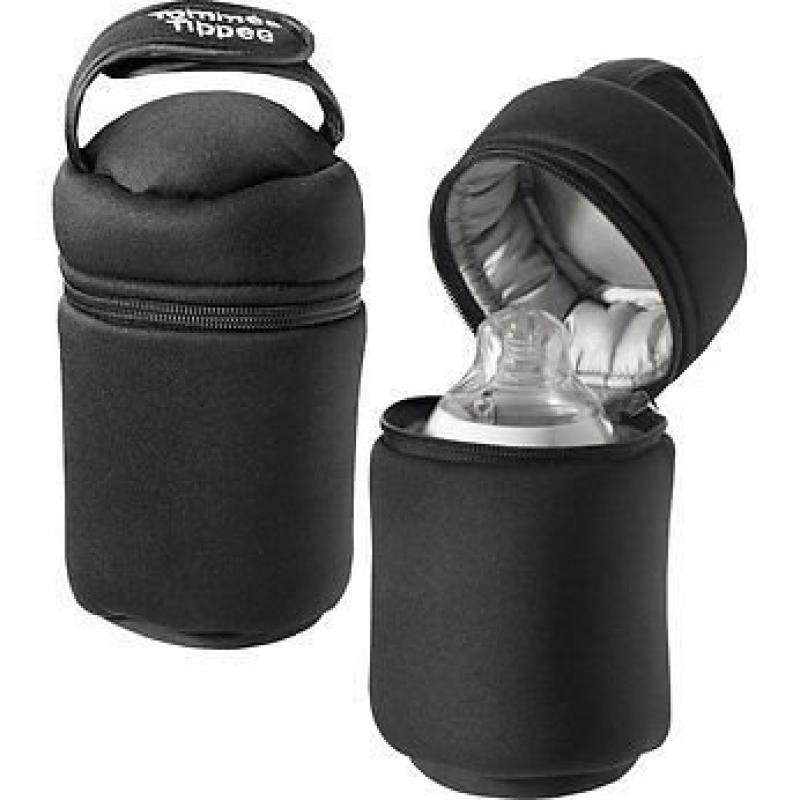 Tommee Tippee Closer to Nature Insulated Baby Bottle Warmers Bags Carriers X 2 Gift for MOM by BIGBROWN