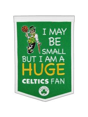 "Boston Celtics 12"" x 18"" Lil Fan Traditions Banner"
