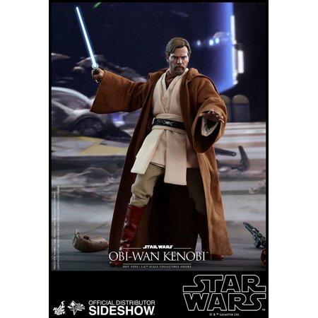 Star Wars Revenge Of The Sith 12 Inch Action Figure Movie Masterpiece 1 6 Scale Series Obi Wan Kenobi Hot Toys 903476 Walmart Canada