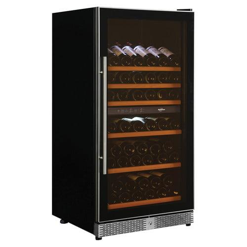 Koolatron Elites Series 68 bottle Dual Zone Wine Fridge Built-in or Freestanding Use WC68DZ