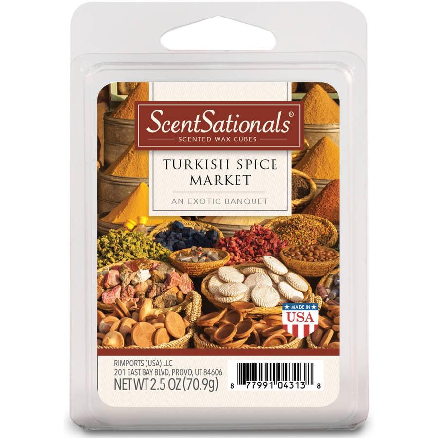 ScentSationals Wax Cubes, Turkish Spice Market