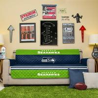 Seattle Seahawks Sofa Protector - Blue - No Size