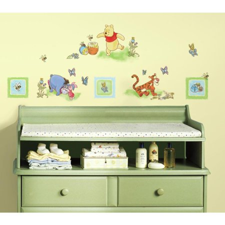 Eeyore Wall (WINNIE THE POOH 41 BiG Wall Decals Room Decor Tigger Eeyore Stickers )