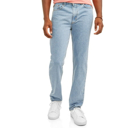 George Men's Regular Fit Jean Button Down Cotton Jeans