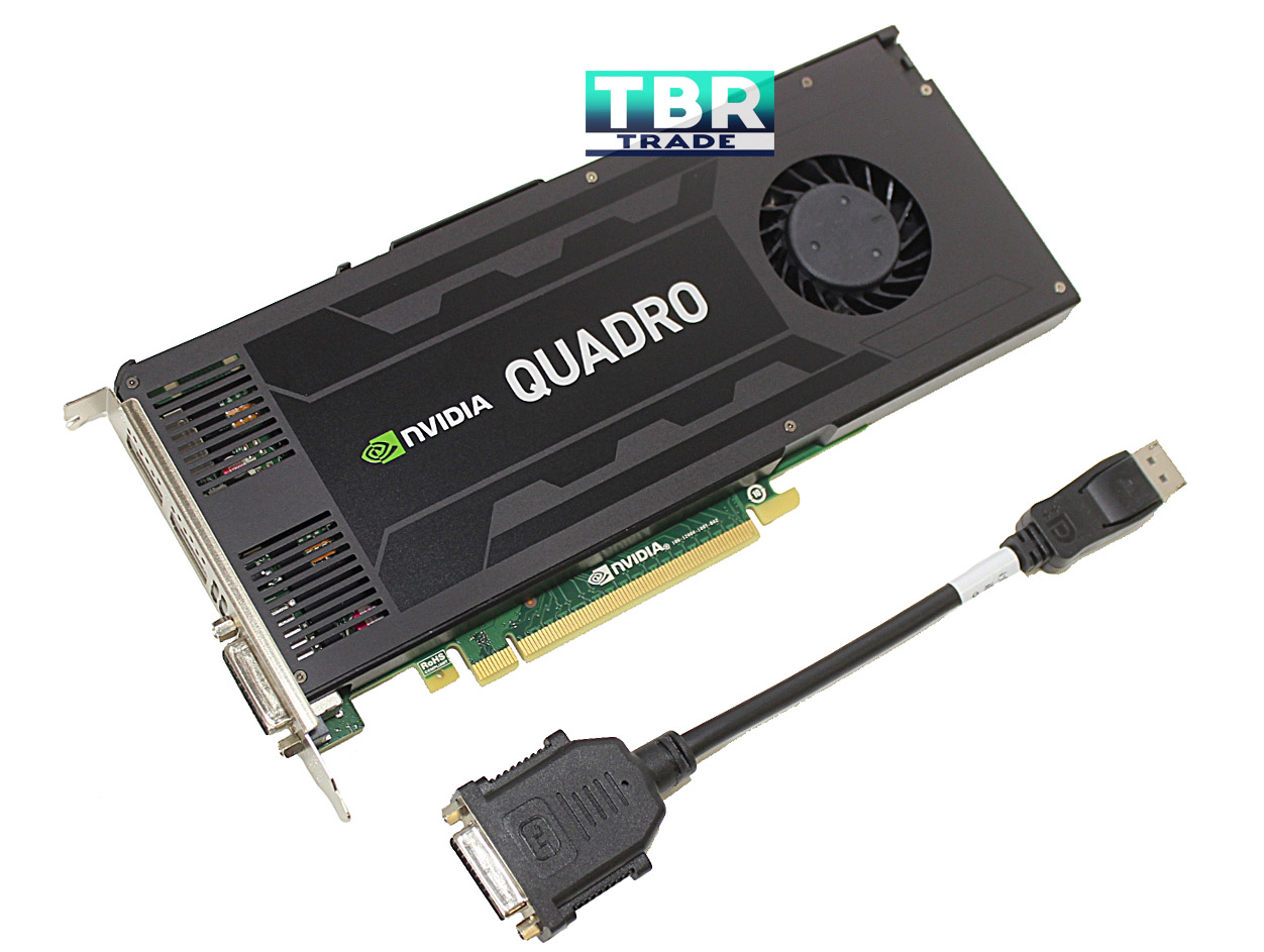PNY NVIDIA Quadro K4200 4GB GDDR5 PCI-E 2.0 x16 Video Graphics Card VCQK4200-T by NVIDIA