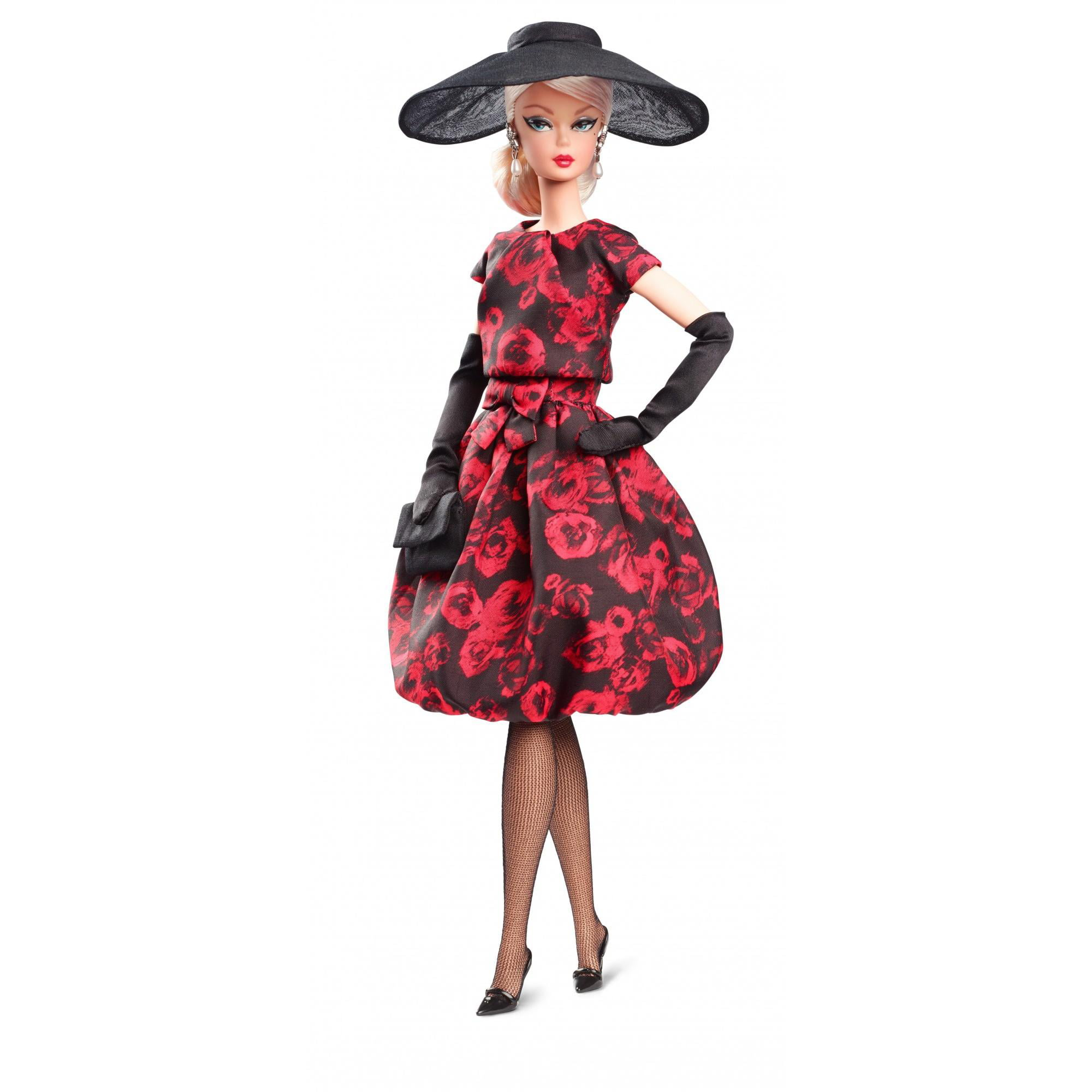 Barbie Elegant Rose Cocktail Dress Doll by Mattel