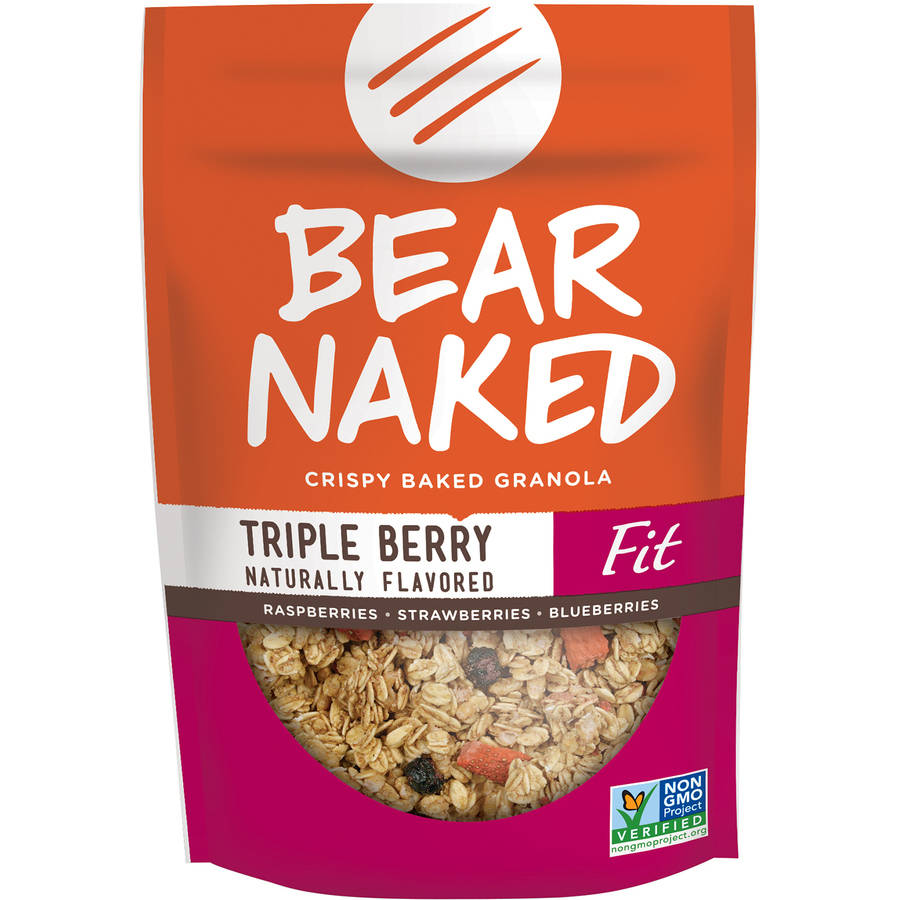 Bear Naked All Natural - FIT Granola Triple Berry Crunch, 12 oz