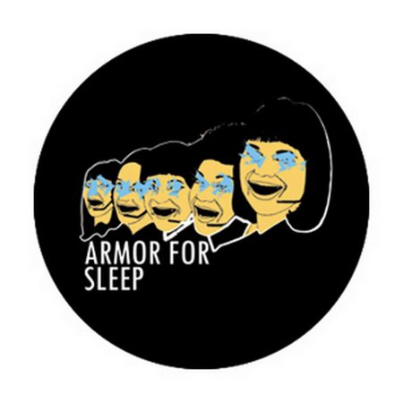 Armor For Sleep Say Cheese Button B-4100