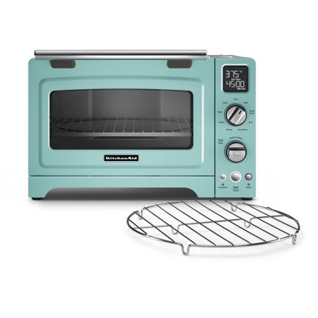 KitchenAid RKCO275AQ Convection Digital Countertop Oven, Aqua Sky (CERTIFIED