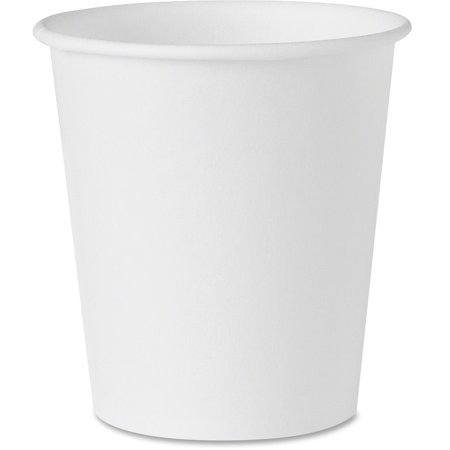 Solo, SCC442050, Treated Paper Water Cups, 100 / Pack, White, 3 fl oz - Solo Cup Lights