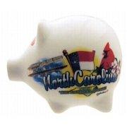 Jenkins North Carolina Piggy Bank- Elements (pack Of 60)
