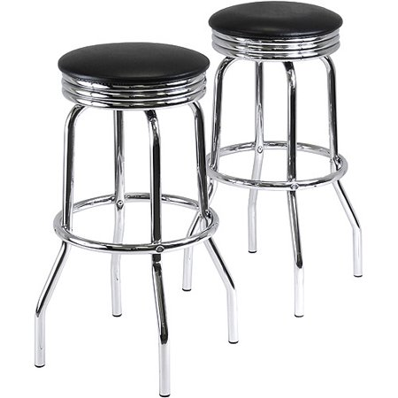 Summit Swivel Bar Stools 28   Set Of 2