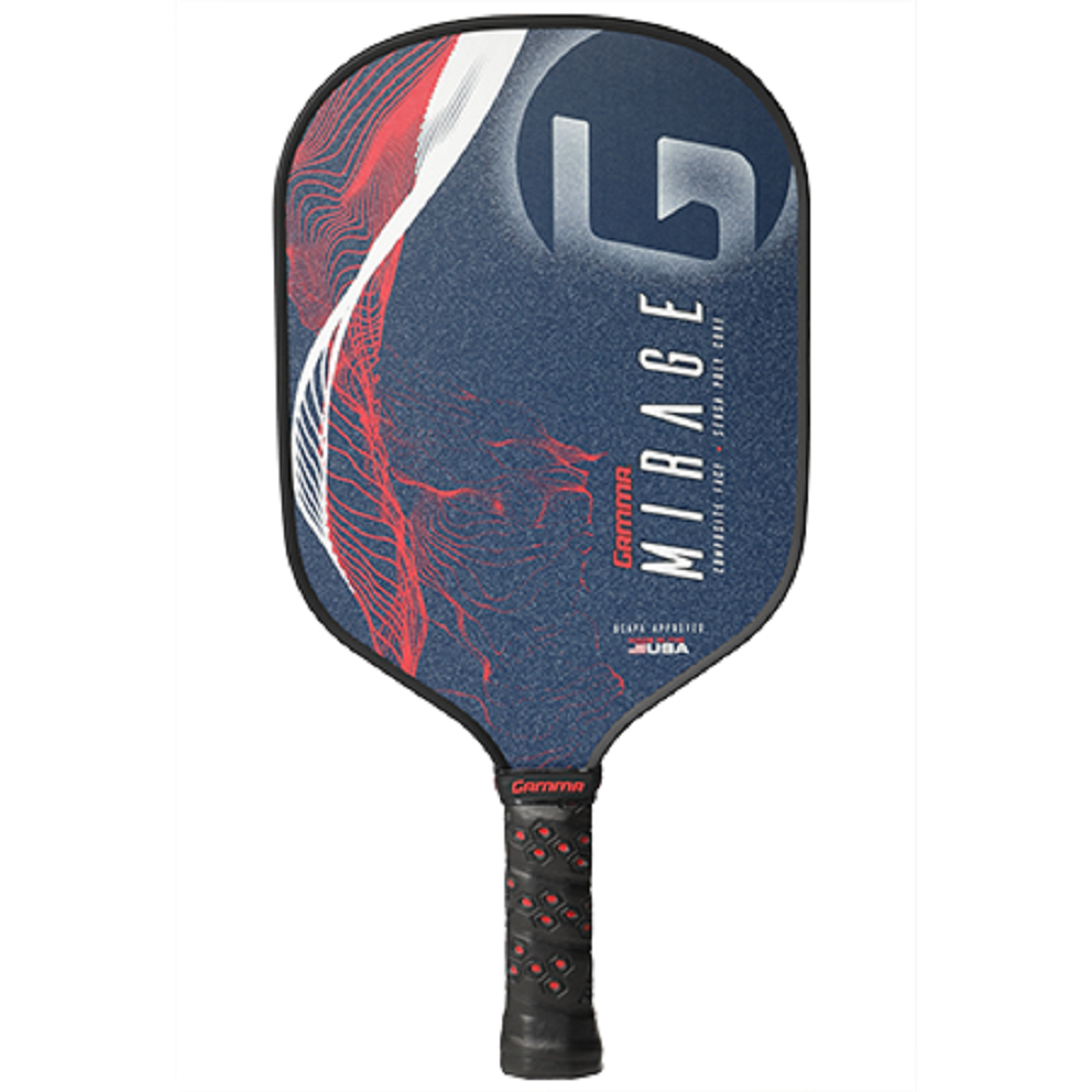 Gamma Mirage Pickleball Paddle (Red/White/Blue)