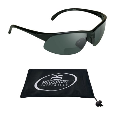 proSPORT Bifocal Sunglasses Reader for Men and Women. Available with +1.50, +1.75, +2.00, +2.25, +2.50, (Organize Sunglasses)