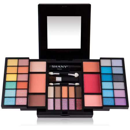 SHANY 'Timeless Beauty' Kit - 36 Eye Shadows, 6 Blushes, Mini Mascara, and - Halloween Eye Makeup Kits