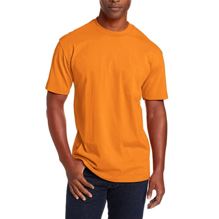 Ma Croix Mens Super Max Heavyweight T Shirts Crew Neck Solid Plain Cotton Tee S-5XL Big and Tall