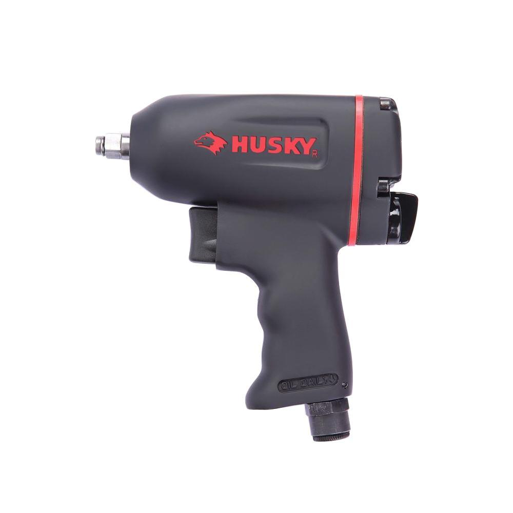 Husky 3/8 in. Impact Wrench Twin-Pawl Design Variable Spe...