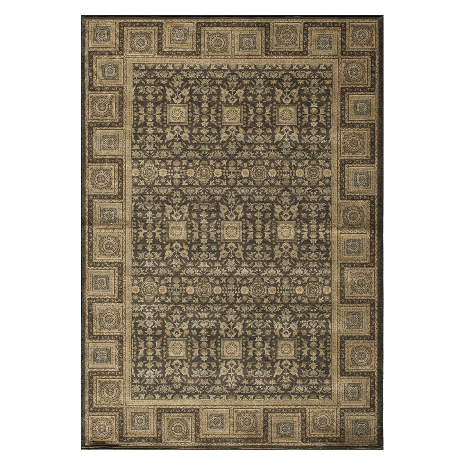 Momeni Encore EC-06 Area Rug - Charcoal