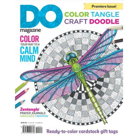 Color, Tangle, Craft, Doodle (#1) : Do Magazine, Book Edition - Classic Adult Magazines