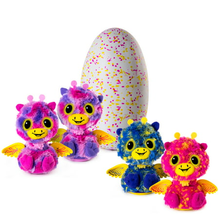 Hatchimals Surprise - Giraven - Hatching Egg with Surprise Twin Interactive Hatchimal Creatures by Spin Master