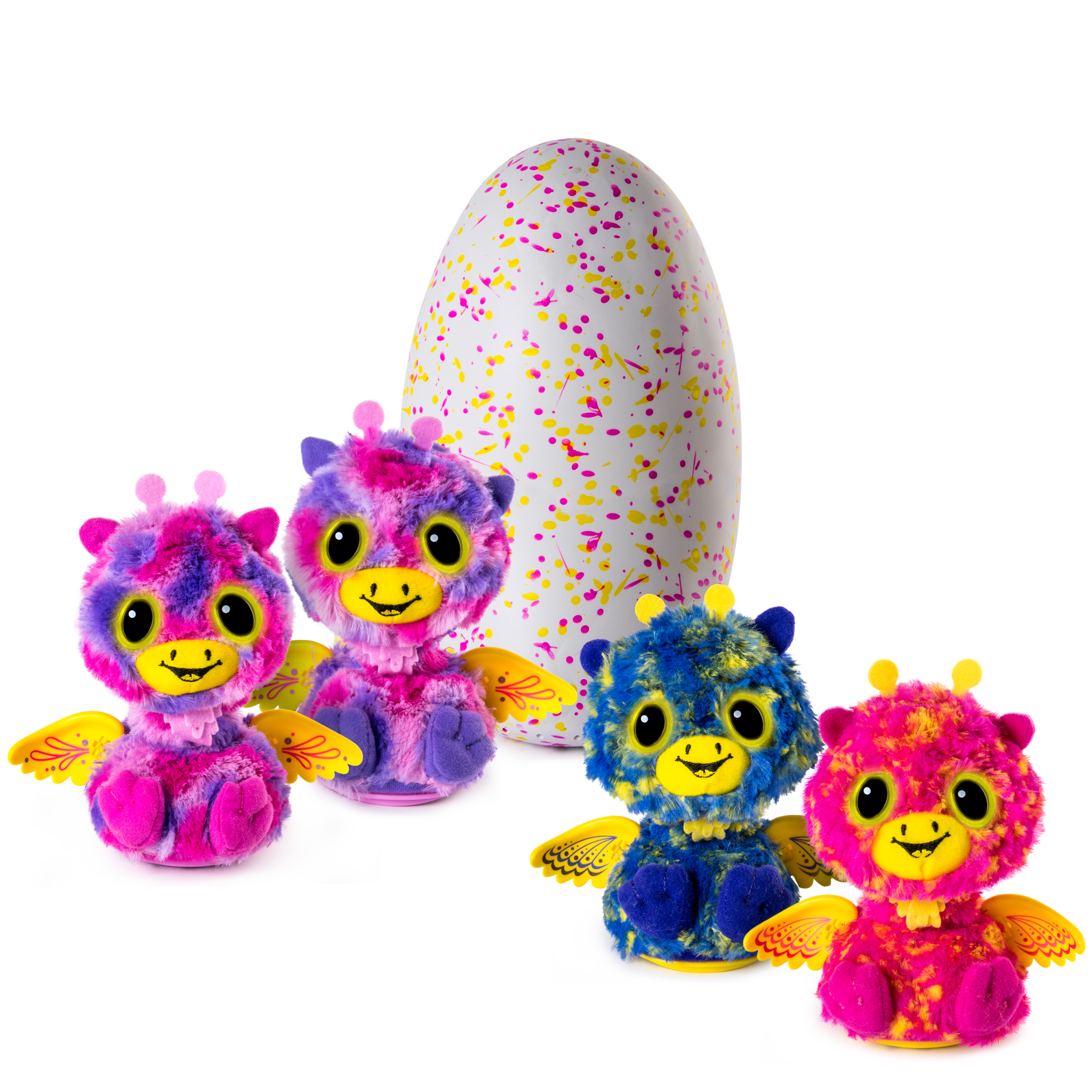 Hatchimals Surprise ‐ Giraven ‐ Hatching Egg with Surprise Twin Interactive Hatchimal Creatures by Spin Master