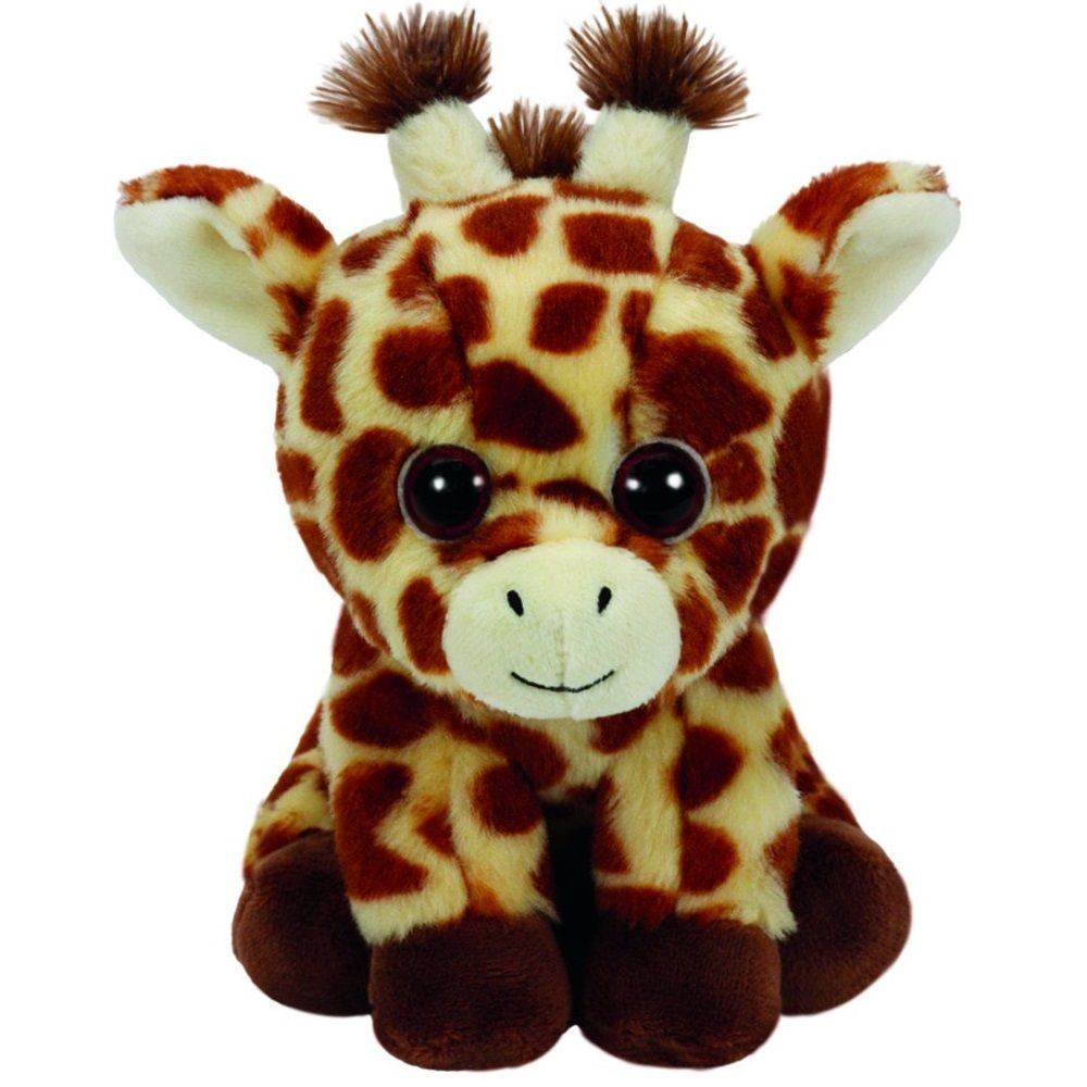 Peaches Giraffe Beanie Babies 8 Inch Stuffed Animal By Ty 41199