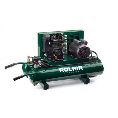 Rol-Air 5715MK103 9 Gallon 1.5 HP Electric Portable Belt ...