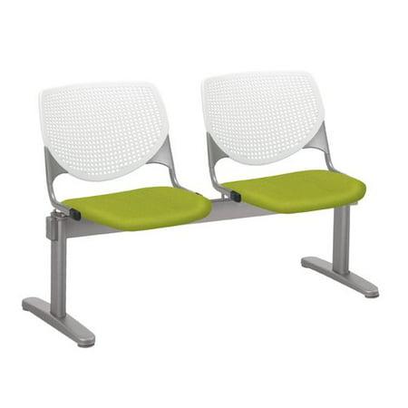 KFI KOOL 2 Beam Reception Waiting Room Seating, White (Beam Seating)