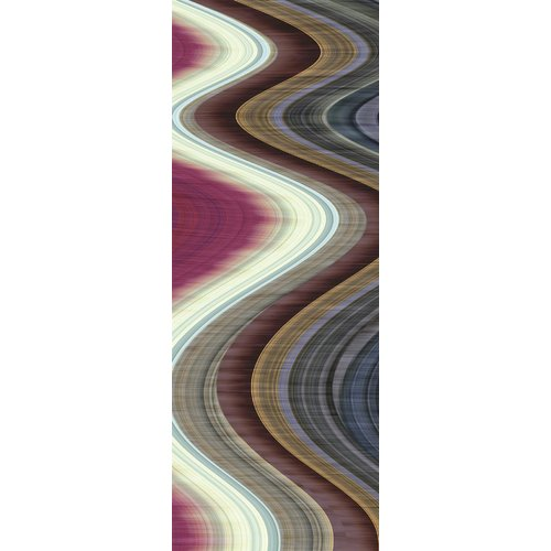 Empire Art Direct 'Rumba Abstract 1' Graphic Art Print on Glass
