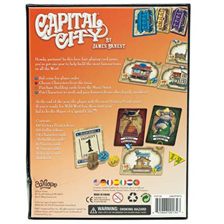 Capital City - A Quick to Learn Strategy Game - for All Experience Levels - image 3 of 4