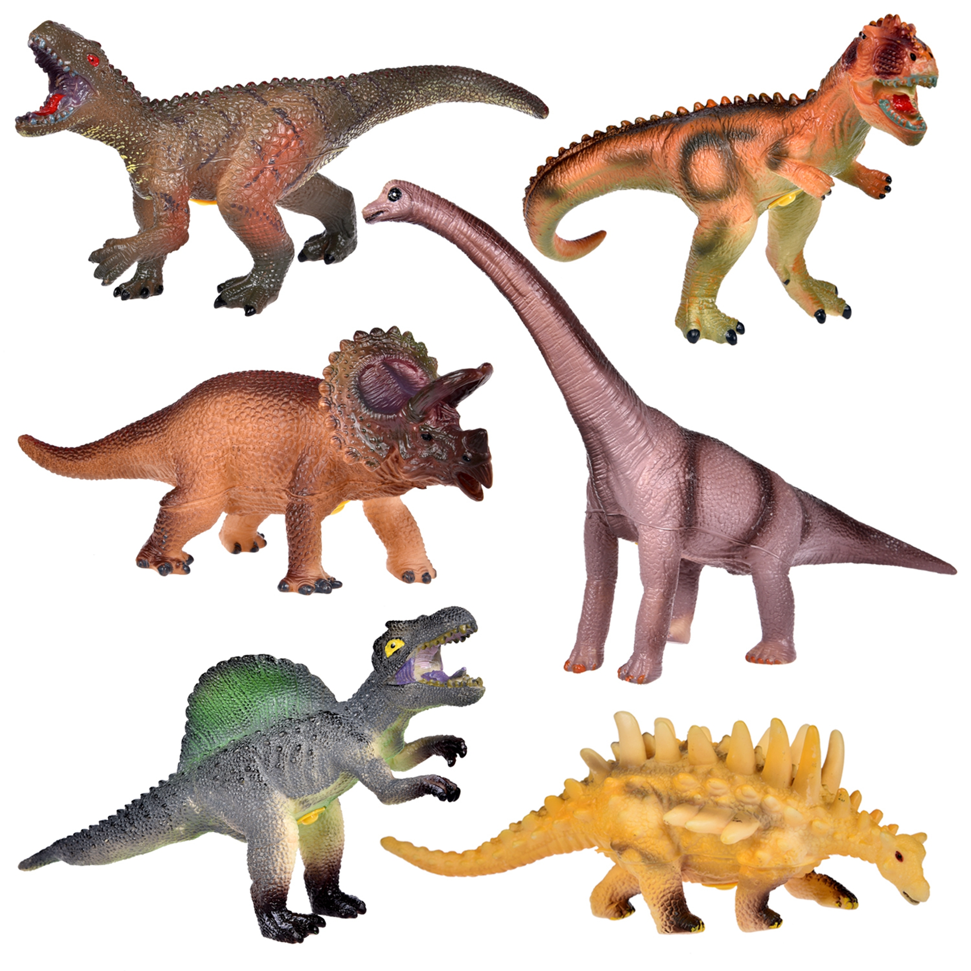 Dinosaur Dinosaurs Tyrannosaurus T Rex Spinosaurus ... |Triceratops Dinosaur