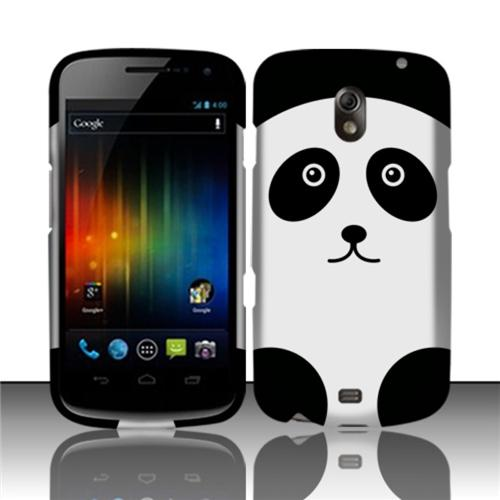 Insten Panda Bear Rubberized Hard Design Case Cover For Samsung Galaxy Nexus CDMA i515/i9250