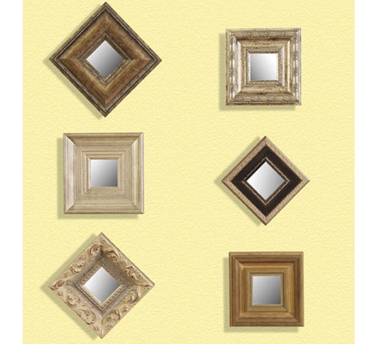 Bassett Old World Decorative Assorted Mirrors