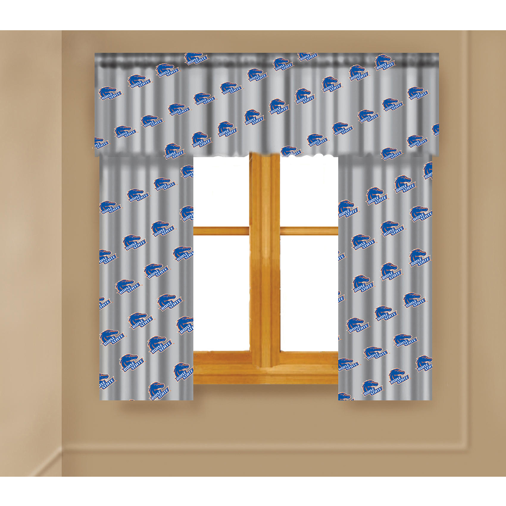 NCAA Boise State Broncos Window Curtain Panels