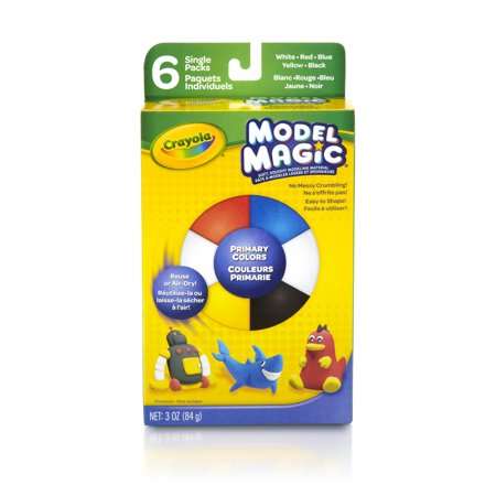 Model Magic Halloween Projects (Crayola Model Magic, Primary Colors, Clay Alternative For Kids, 3)