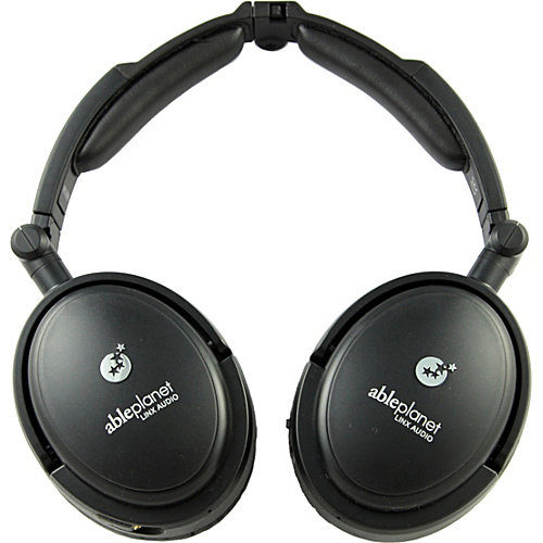 Able Planet NC190BMT Noise Cancelling Headphones Black Bl