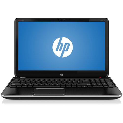 "HP Refurbished Midnight Black 15.6"" Pavilion dv6-7029wm Laptop PC with AMD Quad-Core A8-4500M Accelerated Processor and Windows 7 Home Premium with Windows 8 Pro Upgrade Option"