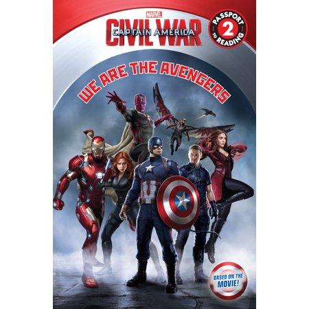 Marvel's Captain America: Civil War: We Are the Avengers -