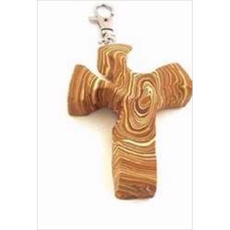 3 Wood Clip (Clip Comforting Clay Cross Wood Look 3 In. )