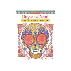 Design Originals Day Of The Dead Coloring Bk