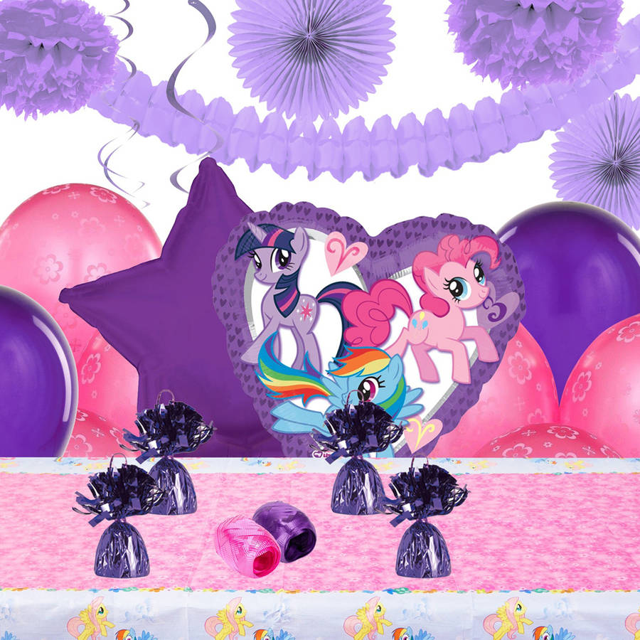 My Little Pony Friendship is Magic Decoration Kit