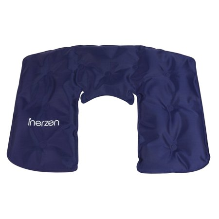 Inerzen Neck and Shoulder Hot and Cold Big Gel Pad Full Coverage Therapy Wrap for Pain, Muscle, Stress Relief - Microwavable and Freezable Therapeutic Hot Cold Neck Wrap