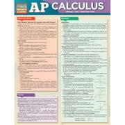 BarCharts 9781423214908 AP Calculus Quickstudy Easel