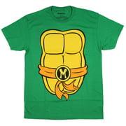 Teenage Mutant Ninja Turtles TMNT Mens Costume T-Shirt (Michelangelo, X-Large)